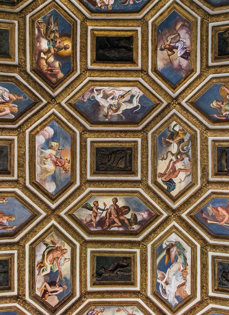 Fabian Fröhlich, Mantova, Palazzo Te, Chamber of the Winds