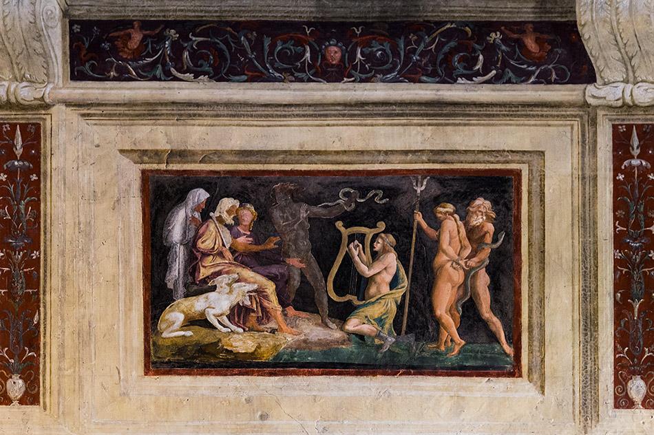 Fabian Fröhlich, Mantova, Palazzo Te, Camera di Ovidio o delle Metamorfosi