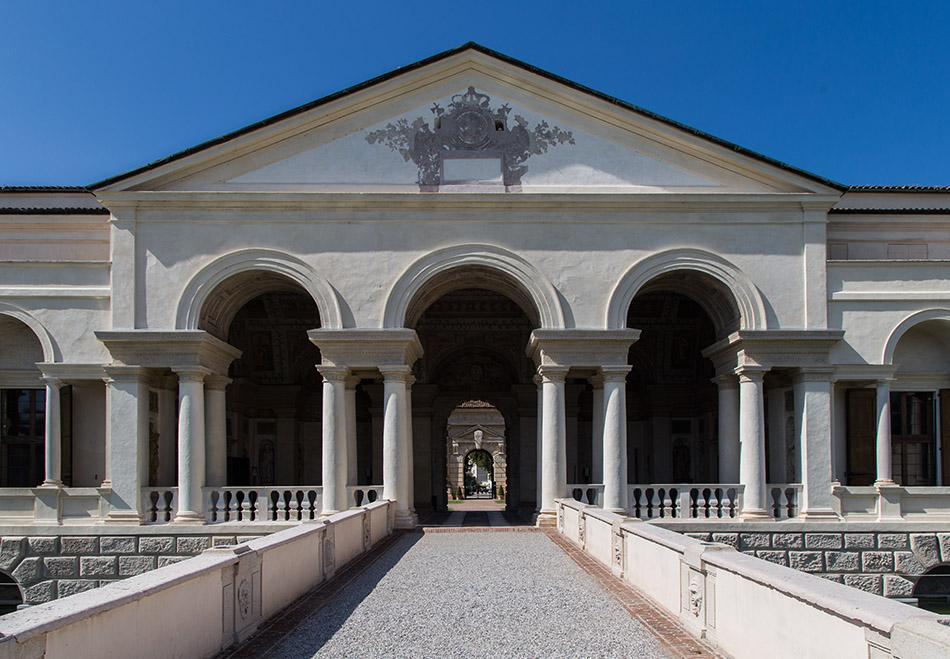 Fabian Fröhlich, Mantova, Palazzo Te, Loggia di Davide