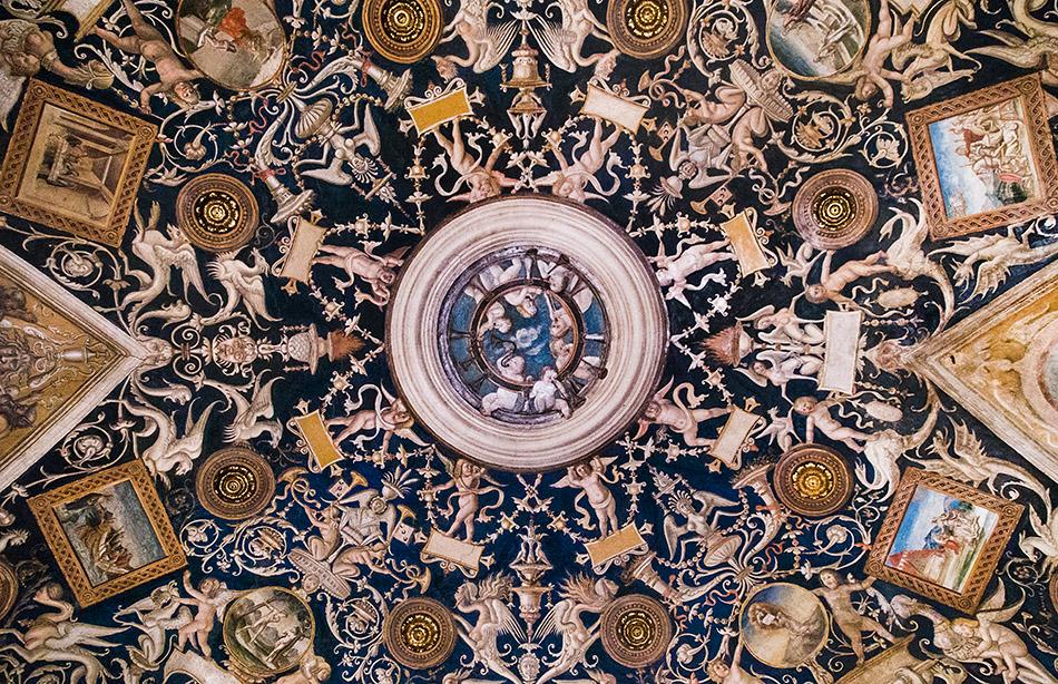 Fabian Fröhlich, Parma, Monastero di San Paolo, Volta delle Grottesche by Alessandro Araldi