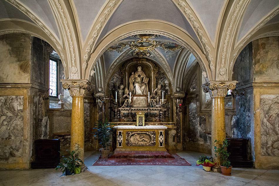 Fabian Fröhlich, Parma, Duomo, Cattedrale di Santa Maria Assunta, crypt