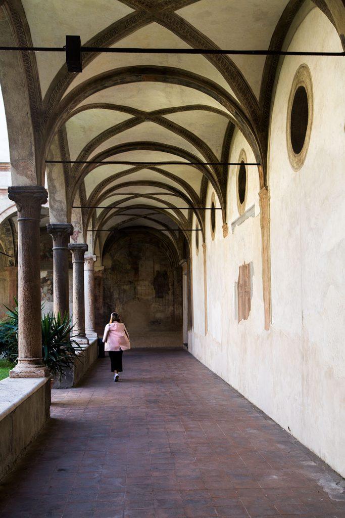 Fabian Fröhlich, Parma, San Giovanni Evangelista, Monastery