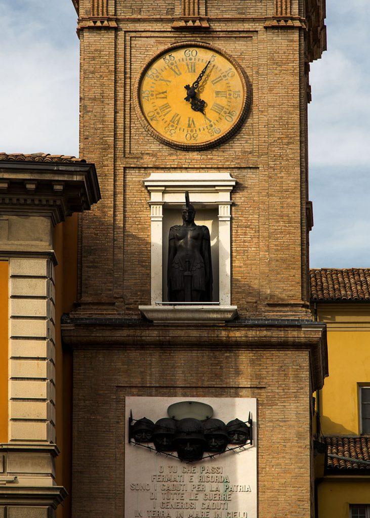 Fabian Fröhlich, Parma, San Paolo Church tower with War Memorial