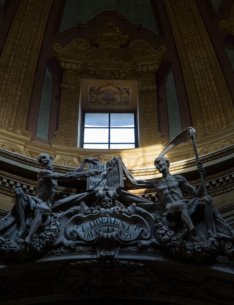 Fabian Fröhlich, Parma, Chiesa di San Vitale, Monumento Beccaria