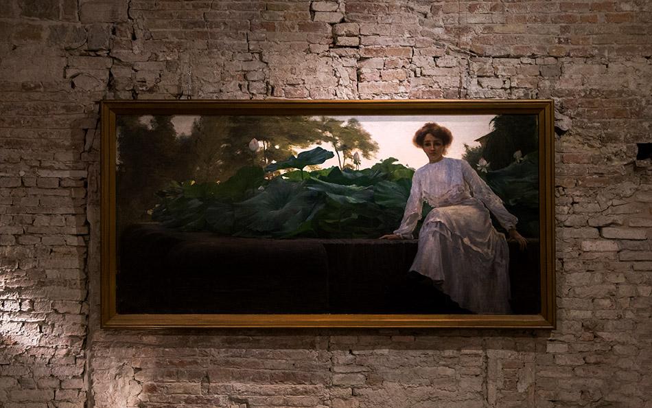 Fabian Fröhlich, Parma, Pinacoteca G Stuard, Amedeo Bocchi, Fior di Loto