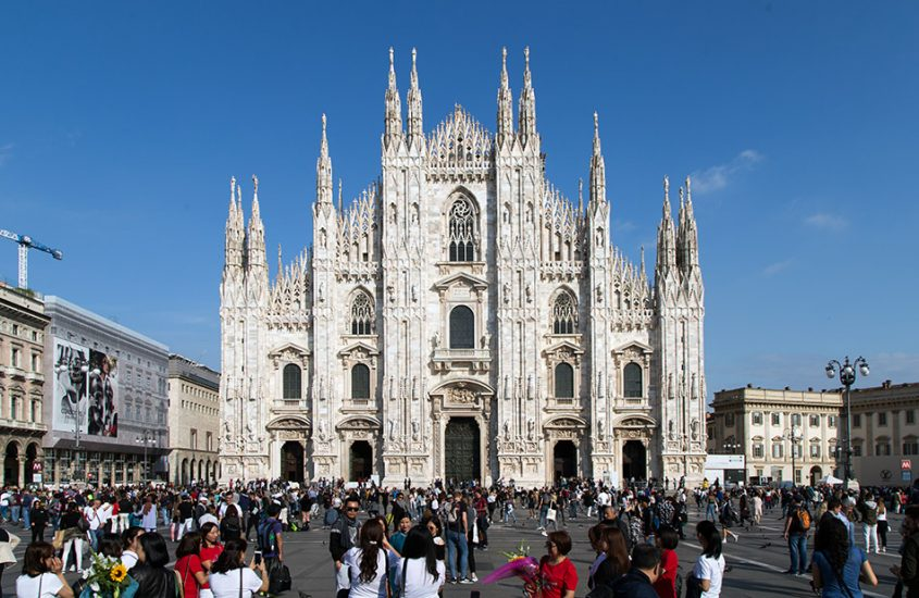 Fabian Fröhlich, Piazza Duomo and Duomo die Milano