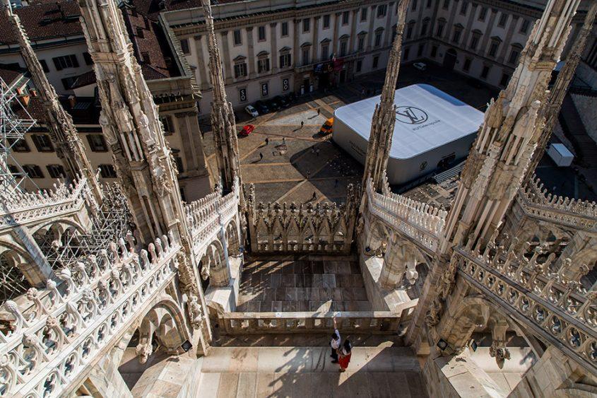 Fabian Fröhlich, Duomo di Milano, View from roof