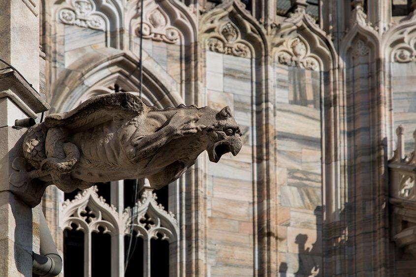 Fabian Fröhlich, Duomo die Milano, Gargoyle