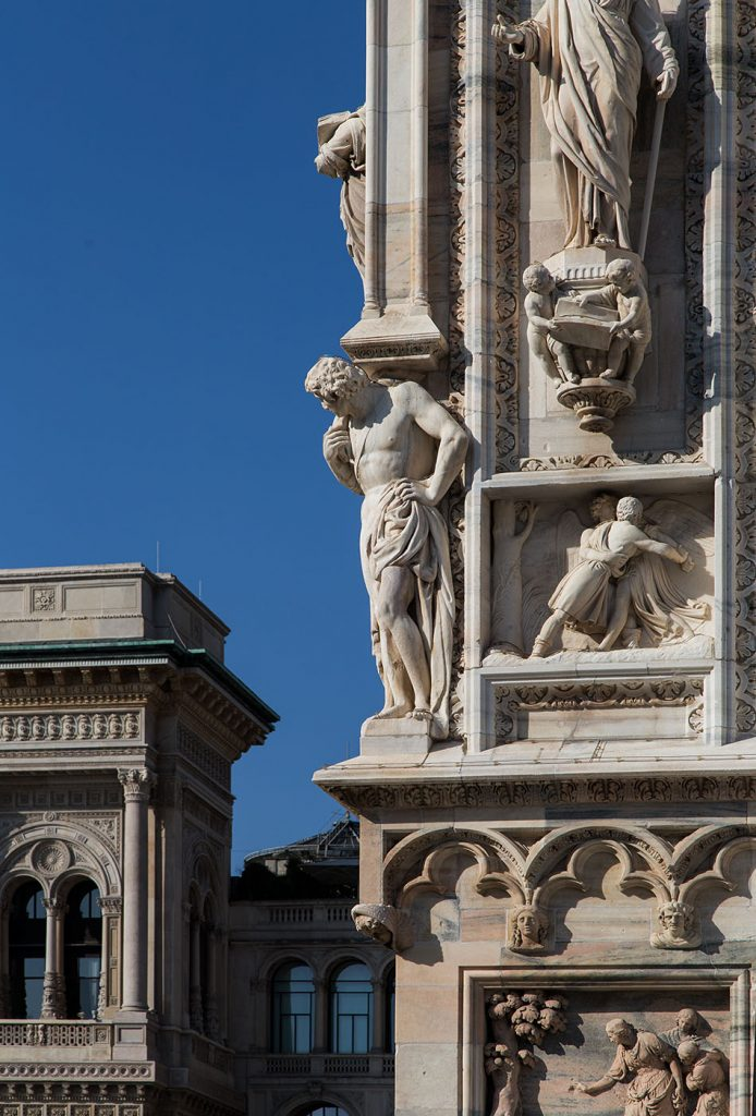 Fabian Fröhlich,Duomo di Milano, Southwest corner