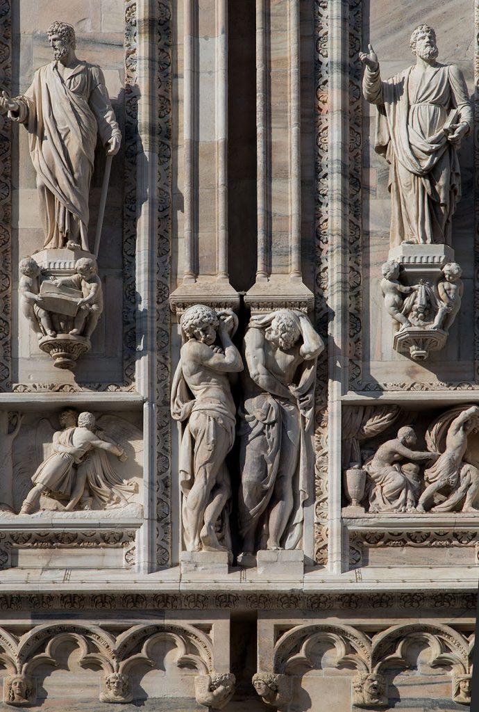 Fabian Fröhlich, Duomo di Milano, South facade