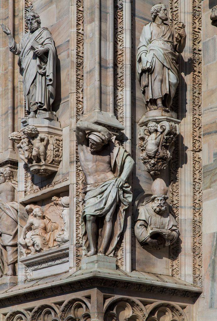 Fabian Fröhlich, Duomo di Milano, West facade