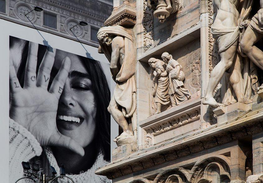 Fabian Fröhlich, Duomo di Milano, Northwest corner