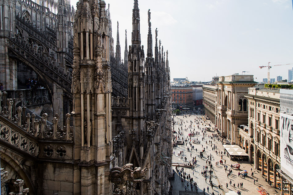 Fabian Fröhlich, Duomo di Milano, View from roof