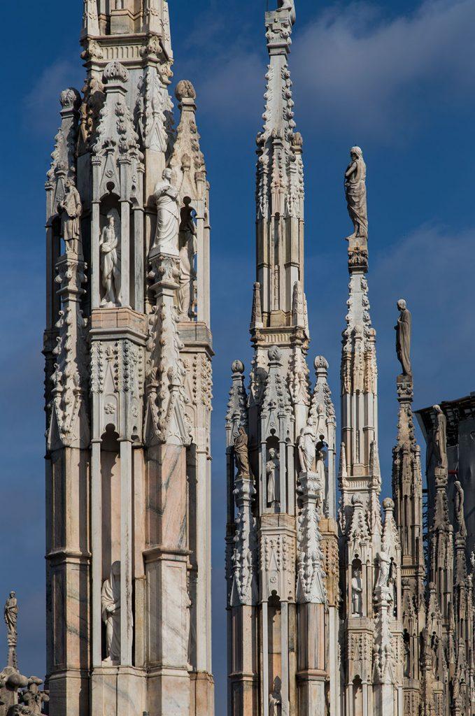 Fabian Fröhlich, Duomo di Milano, Roof