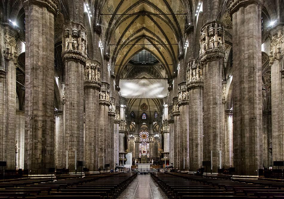 Fabian Fröhlich, Duomo di Milano, Interior