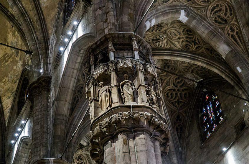 Fabian Fröhlich, Duomo di Milano, Columns