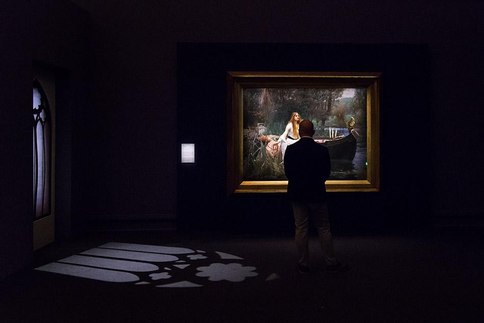 Fabian Fröhlich, Milano, PRERAFFAELLITI. AMORE E DESIDERIO, Palazzo Reale, Waterhouse. ady of Shalott