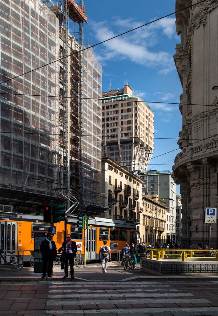 Fabian Fröhlich, Mailand, Corso die Porta Romana and Torre Velasca Torre Velasca