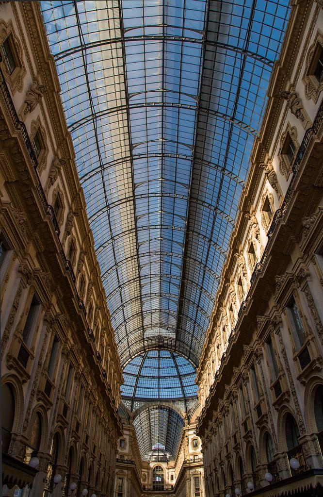 Fabian Fröhlich, Mailand, Galleria Vittorio Emanuele II