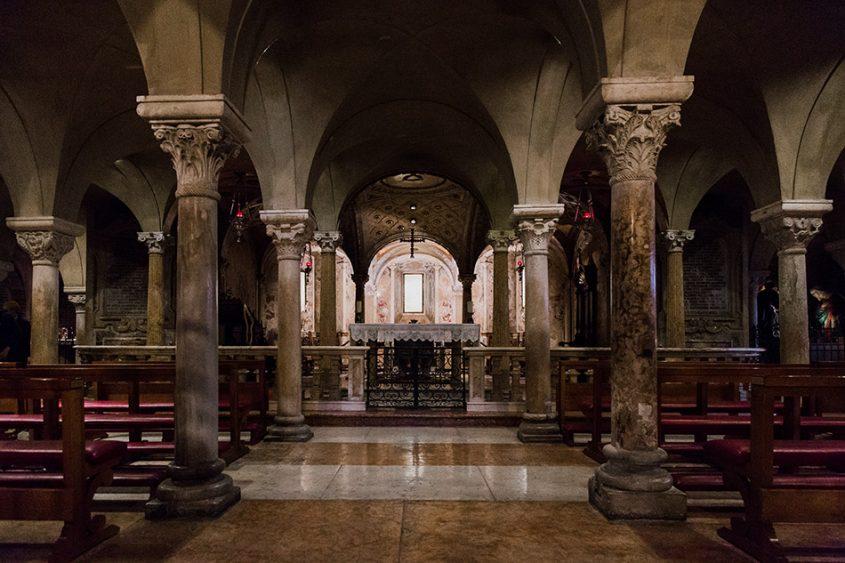 Fabian Fröhlich. Duomo di Parma, Crypt