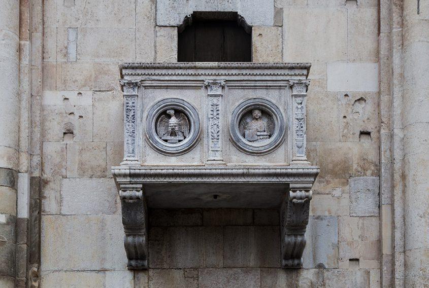 Fabian Fröhlich. Duomo di Parma, South facade