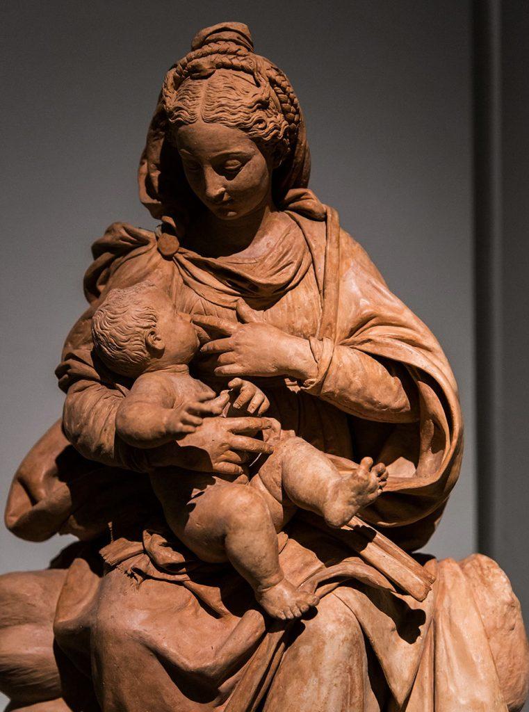 Fabian Fröhlich, Modena, Galleria Estense, Antonio Begarelli, Virgin with Child (Madonna del latte)
