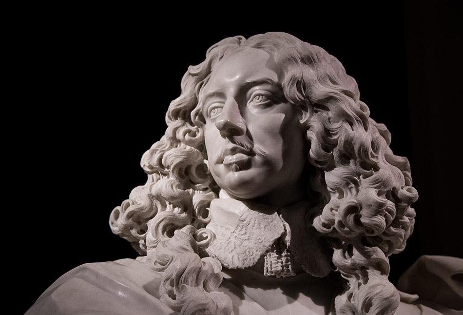 Fabian Fröhlich, Modena, Galleria Estense, Gian Lorenzo Bernini, Bust of Francesco I d'Este