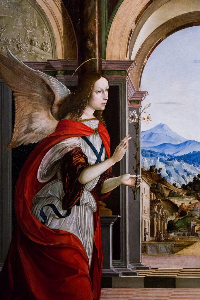 Fabian Fröhlich, Modena, Galleria Estense, Giovanni Antonio Scacceri and Francesco Bianchi Ferrari, Annunciazione