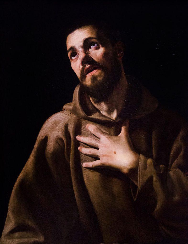 Fabian Fröhlich, Modena, Galleria Estense, Estasi di san Francesco d'Assisi