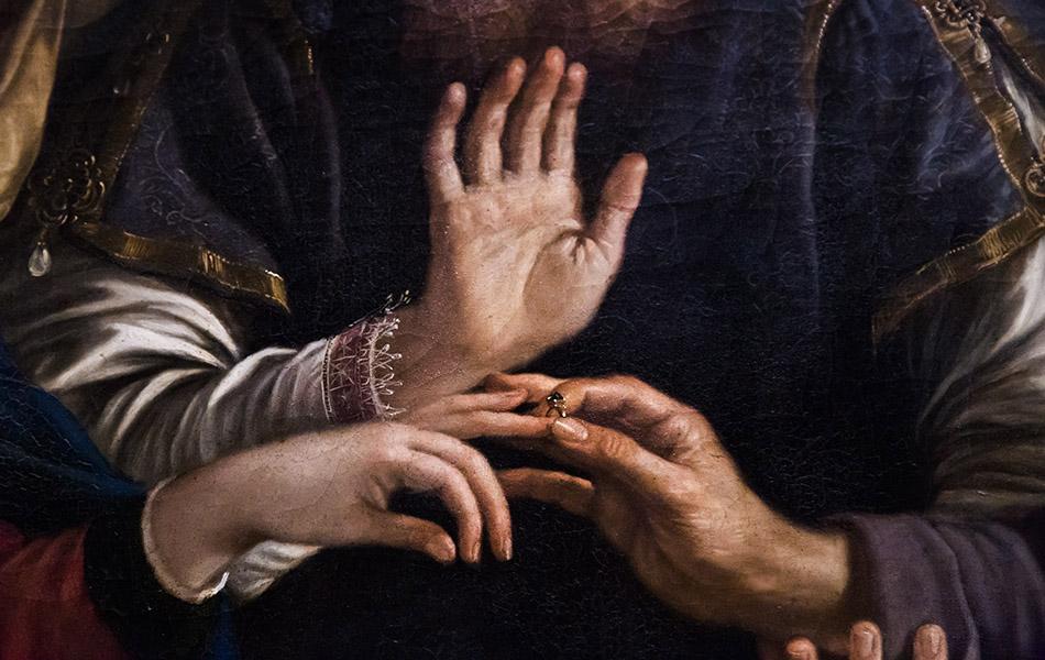 Fabian Fröhlich, Modena, Galleria Estense, Sposalizio della Vergine, Gennari Bartolomeo