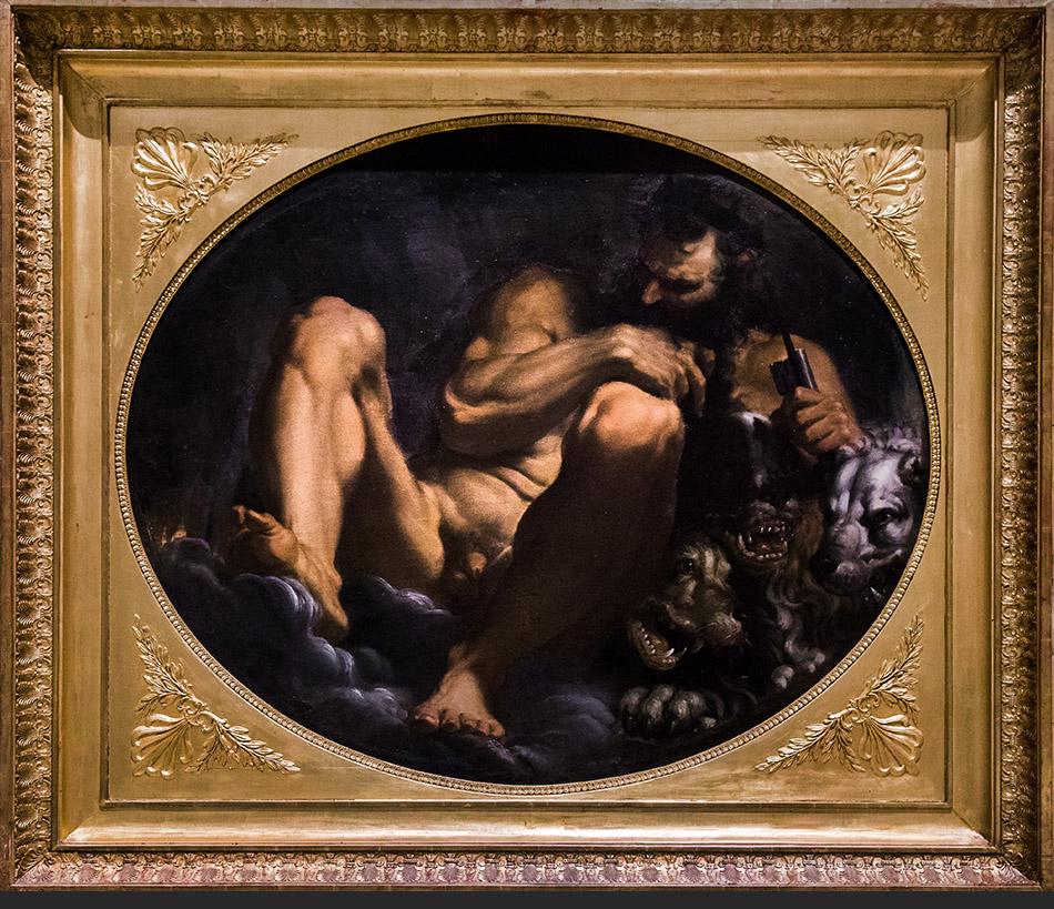 Fabian Fröhlich, Modena, Galleria Estense, Agostina Carracci, Plutone