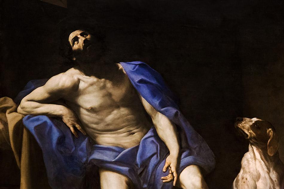 Fabian Fröhlich, Modena, Galleria Estense, Guido Reni, San Rocco in carcere
