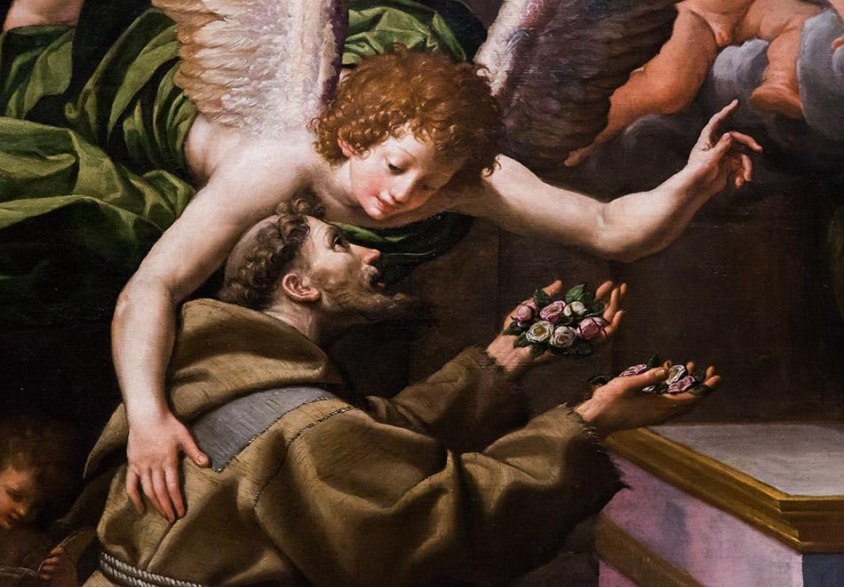 Fabian Fröhlich, Modena, LeonelloSpada, Galleria Estense, Visione di san Francesco d'Assisi