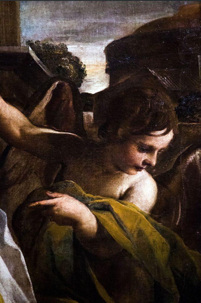 Fabian Fröhlich, Modena, Galleria Estense, Madonna col Bambino che incorona santa Caterina d'Alessandria alla presenza di sant'Anna, Tiarini Alessandro