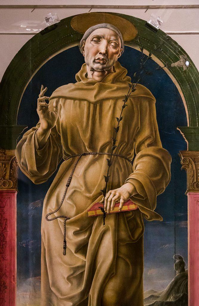 Fabian Fröhlich, Modena, Galleria Estense, Cosmè Tura, Sant'Antonio da Padova
