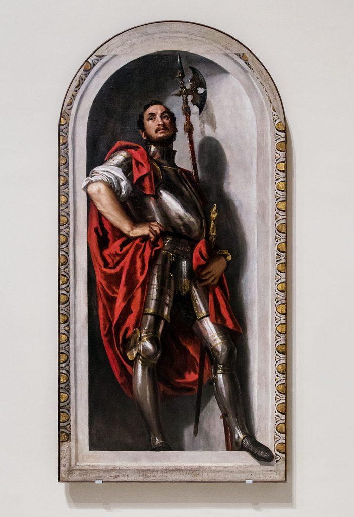 Fabian Fröhlich, Modena, Galleria Estense, Veronese, San Menna