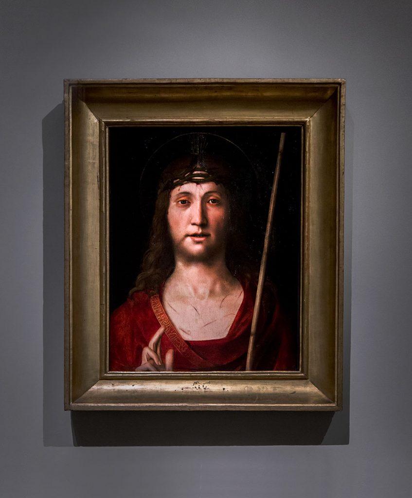 Fabian Fröhlich, Modena, Galleria Estense, Solario Antonio (Zingaro), Ecce Homo