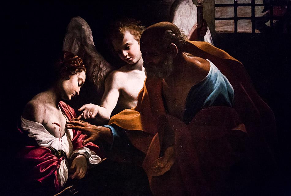 Fabian Fröhlich, Galleria Nazionale di Parma, Palazzo dell Pilotta, Giovanni Lanfranco, Sant' Agata