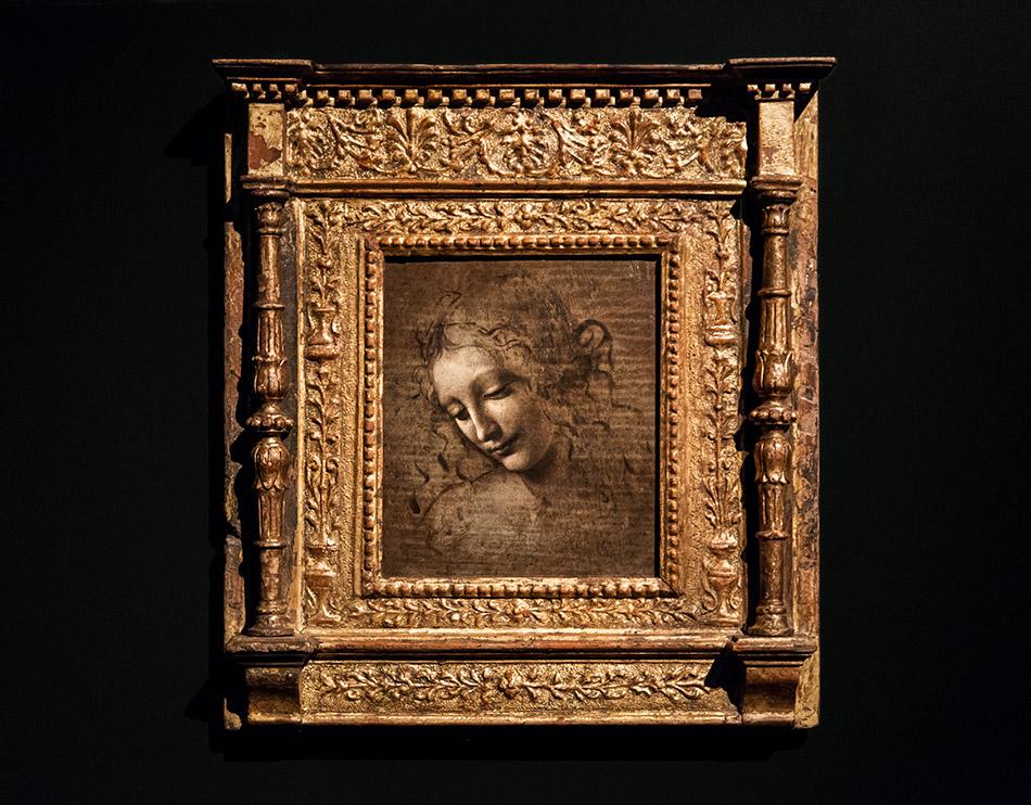Fabian Fröhlich, Galleria Nazionale di Parma, Palazzo dell Pilotta, Leonardo da Vinci, La Scapigliata