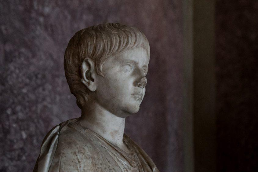 Fabian Fröhlich, Galleria Nazionale di Parma, Palazzo dell Pilotta, Nero of Veleia