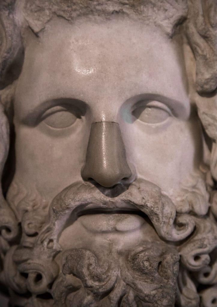 Fabian Fröhlich, Galleria Nazionale di Parma, Palazzo dell Pilotta, Museo Archeologico Nazionale, Head of Zeus