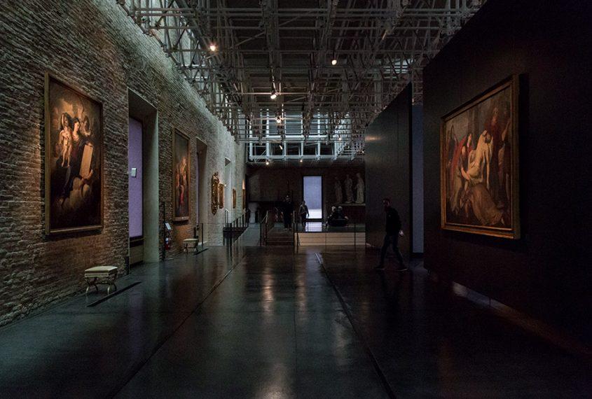 Fabian Fröhlich, Galleria Nazionale di Parma, Palazzo dell Pilotta, North Wing