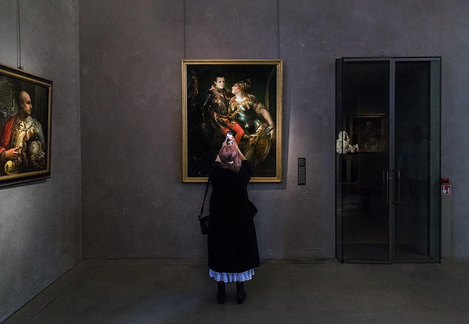 Fabian Fröhlich, Galleria Nazionale di Parma, Palazzo dell Pilotta, Girolamo Bedoli, Parma embraces Alessandro Farnese