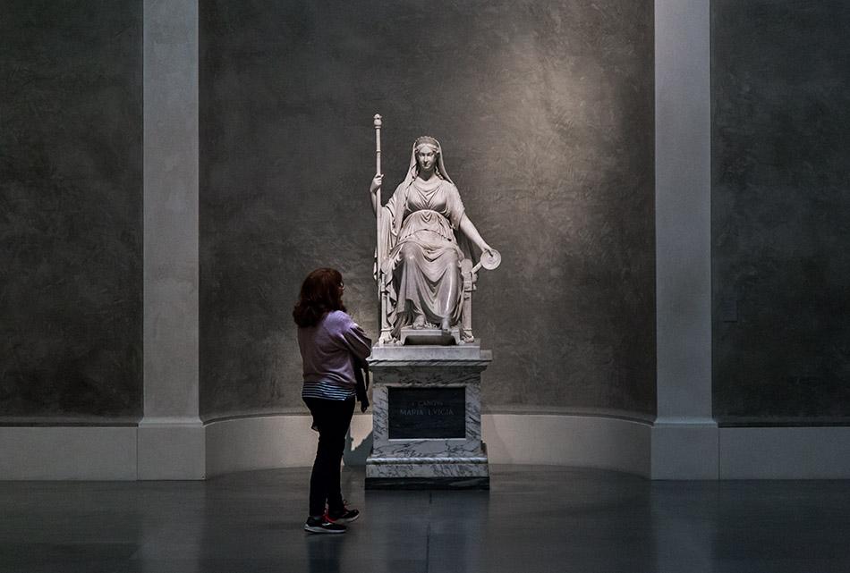 Fabian Fröhlich, Galleria Nazionale di Parma, Palazzo dell Pilotta, Antonio Canova, Maria Luigia