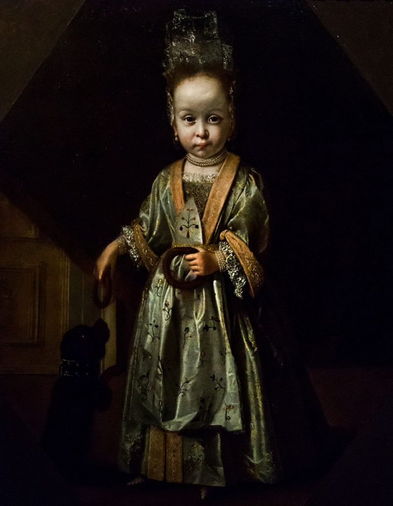 Fabian Fröhlich, Galleria Nazionale di Parma, Palazzo dell Pilotta, Francesco Cittadini, Portrait of a Little Girl with a dof