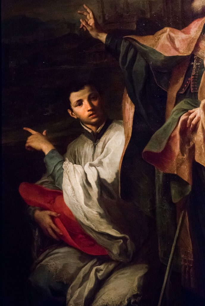 Fabian Fröhlich, Galleria Nazionale di Parma, Palazzo dell Pilotta, Sebastiano Conca, St. Bernardo degli Umberti
