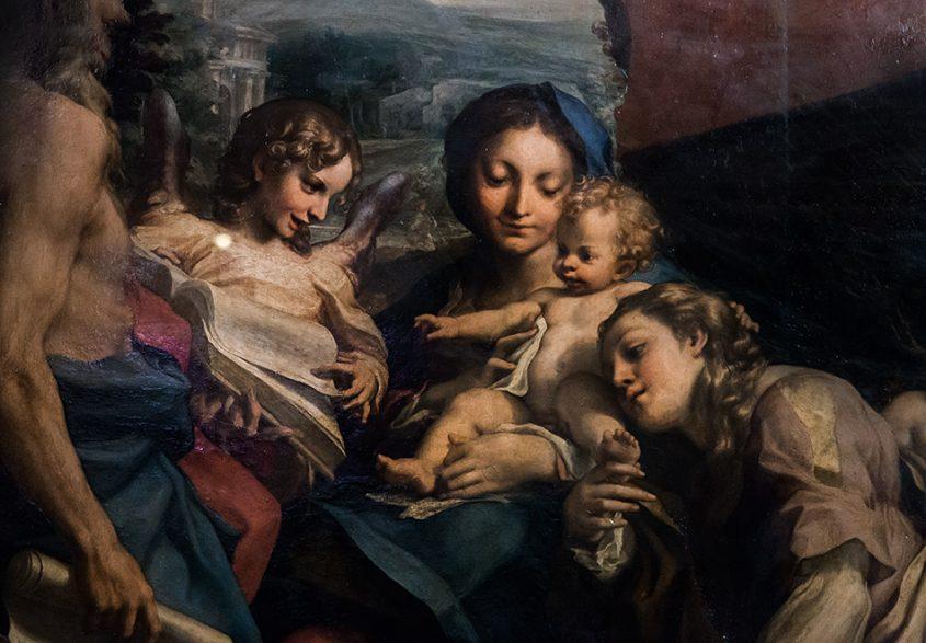 Fabian Fröhlich, Galleria Nazionale di Parma, Palazzo dell Pilotta, Correggio, La Madonna di San Gerolamo