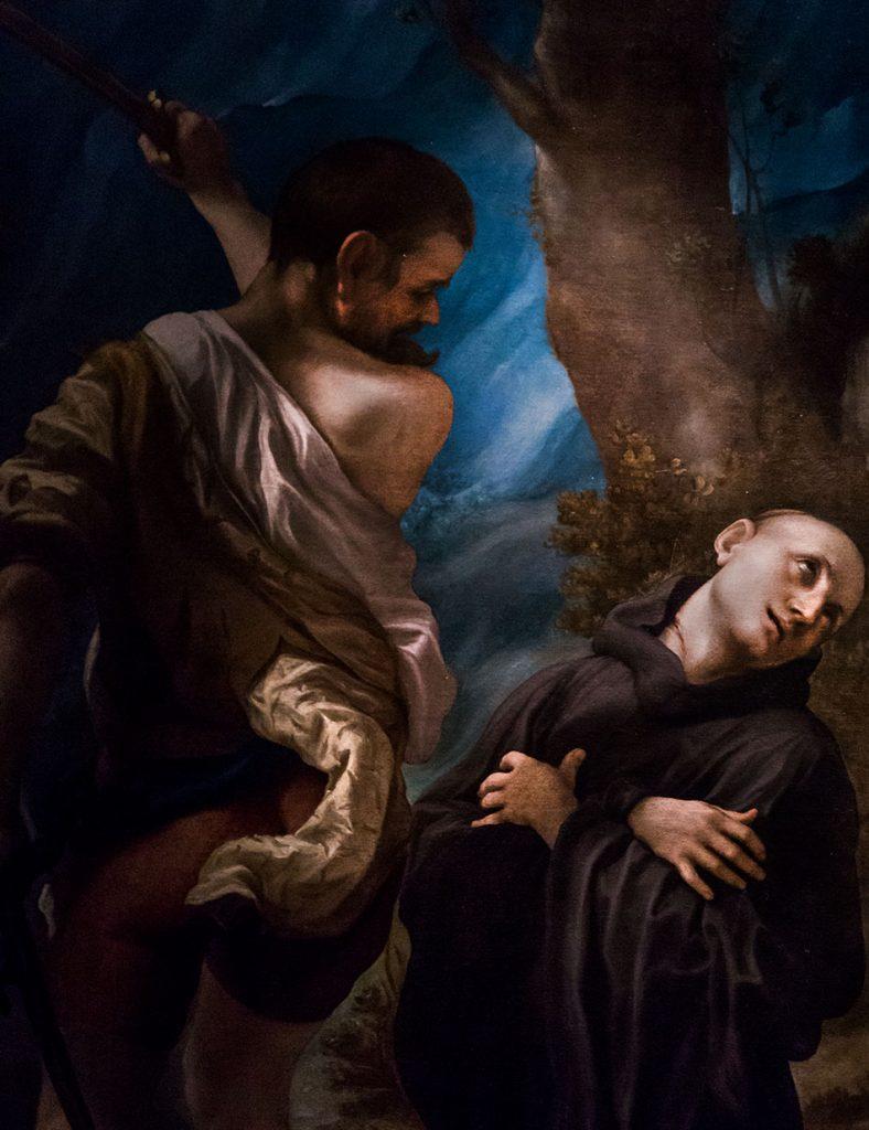 Fabian Fröhlich, Galleria Nazionale di Parma, Palazzo dell Pilotta, Correggio, Martyrdom of St. Placidus, Flacia, Eustachius and Victorinus