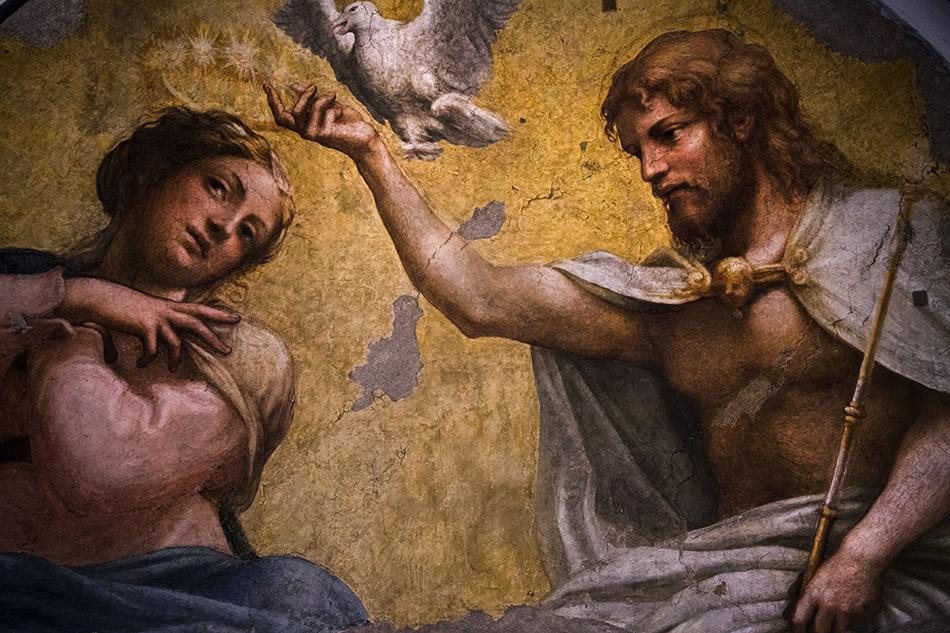 Fabian Fröhlich, Galleria Nazionale di Parma, Palazzo dell Pilotta, Correggio, Incoronazione della Vergine