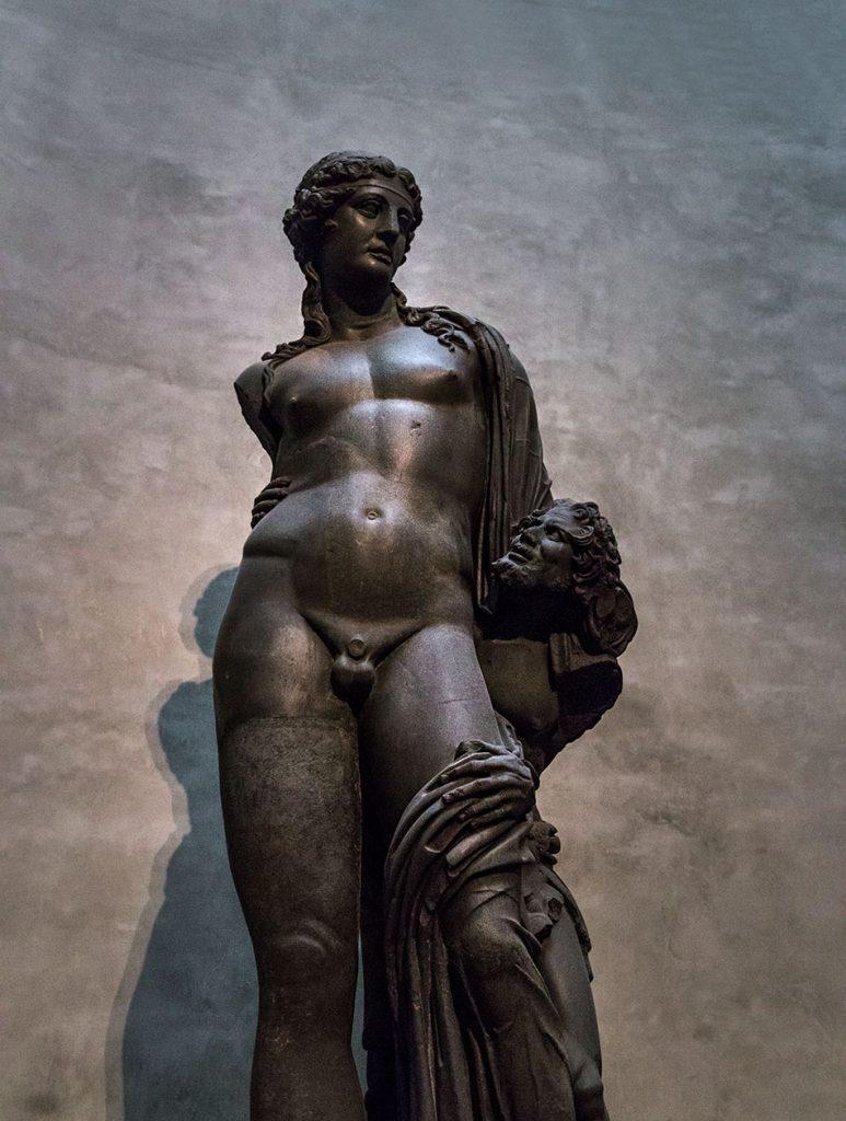 Fabian Fröhlich, Galleria Nazionale di Parma, Palazzo dell Pilotta, Colossal Roman statue of Bacchus